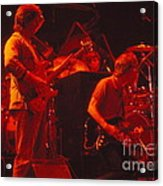 When The Music Played The Band Acrylic Print