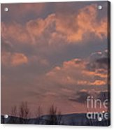 When The Skies Are Burning  Acrylic Print