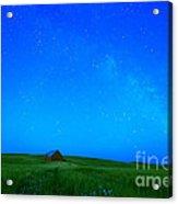 When The Stars Go Blue Acrylic Print