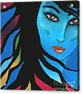 When The Time Is Right Acrylic Print by Hilda Lechuga