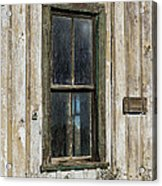 When Times Were Better Acrylic Print by Sandra Bronstein