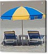 Where Are All The Beach Bums? Acrylic Print