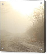Where Does The Road Lead Acrylic Print by Karol Livote