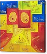 Where Is The Cure Acrylic Print