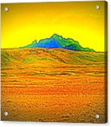 Go Far Out Where Nothing Grows, And Never Look Back   Acrylic Print