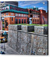 Where Old Meets New Acrylic Print