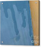Where The Desert Meets The Sea Acrylic Print
