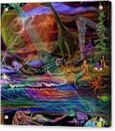 Where The Mermaids Meet Acrylic Print
