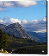 Where The Valley Leads Acrylic Print