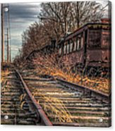 Where Trains Go To Die Acrylic Print