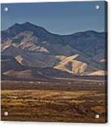 Whetstone Mountains At Sunset Acrylic Print