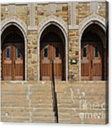 Which Door Will You Choose Acrylic Print