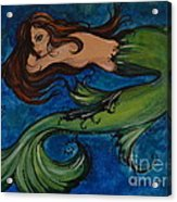 Whimsical Mermaid Acrylic Print