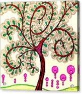 Whimsy Tree Acrylic Print