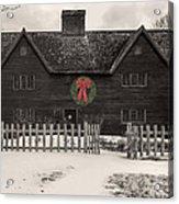 Whipple House Christmas Acrylic Print