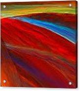 Whirled Colors Acrylic Print