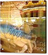 Whirling Carousel Acrylic Print