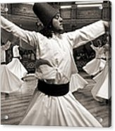 Whirling Dervishes Acrylic Print