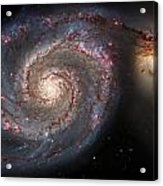 Whirlpool Galaxy 2 Acrylic Print by Jennifer Rondinelli Reilly - Fine Art Photography