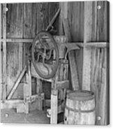 Whiskey Barrel  Acrylic Print