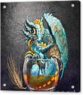 Whiskey Dragon Acrylic Print