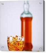 Whiskey Glass Acrylic Print