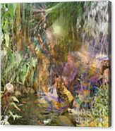 Whispering Waters - Square Version Acrylic Print