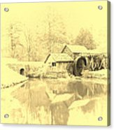 Whispers Of Mabry Mill Acrylic Print