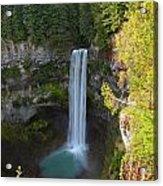 Whistler Bc Waterfall Acrylic Print
