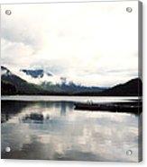 Whistler Lake Bc Acrylic Print
