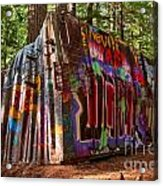 Whistler Train Wreck Acrylic Print