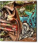 Whistler Train Wreck Stopping Point Acrylic Print