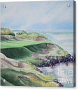 Whistling Straits 7th Hole Acrylic Print