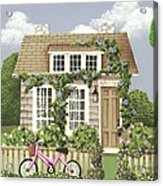 Whitby Cottage Acrylic Print by Catherine Holman