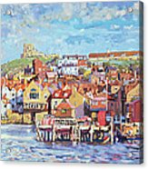 Whitby Acrylic Print by Martin Decent