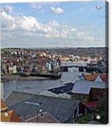 Whitby Rooftops Acrylic Print