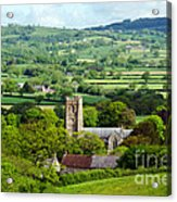 Whitchurch Canonicorum Overview  Acrylic Print