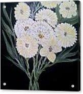 White Bouquet Acrylic Print