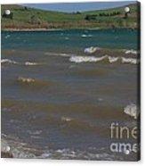 White Caps On Wilson Lake Acrylic Print