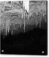 White Cave Needles Acrylic Print