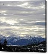 White Excellence Of Winter Acrylic Print