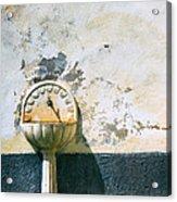 White Fountain Acrylic Print