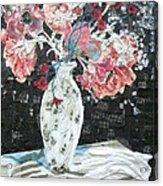 White Glove Acrylic Print by Diane Fine