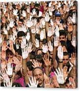 White Hands  - Manos Blancas Acrylic Print