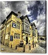 White Hart At Todmorden  Acrylic Print