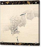 White Herons Acrylic Print