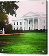 White House Acrylic Print