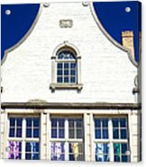 White House In Bruges Acrylic Print