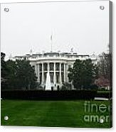 White House In Dc Acrylic Print