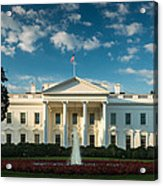 White House Sunrise Acrylic Print